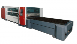 三菱の二次元レーザー加工機eXシリーズ